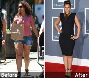 Alicia keys before after
