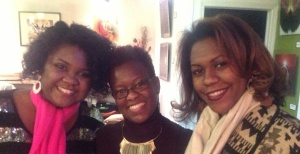 Myself, Erika(Creator of ChocolateChat) and my friend Tiffany Celeste of Celeste Creations